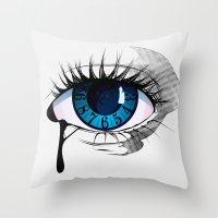 Mystic Eye Throw Pillow