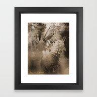 Framed Art Print featuring Flyte Lines  by David Kesslers Digit…