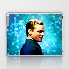 James Cagney, blue screen Laptop & iPad Skin