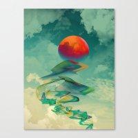 Reach The Sun! Canvas Print