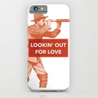 iPhone & iPod Case featuring Looking out for love by NeilRobertLeonard