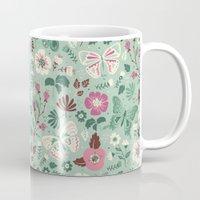 Garden Butterflies  Mug