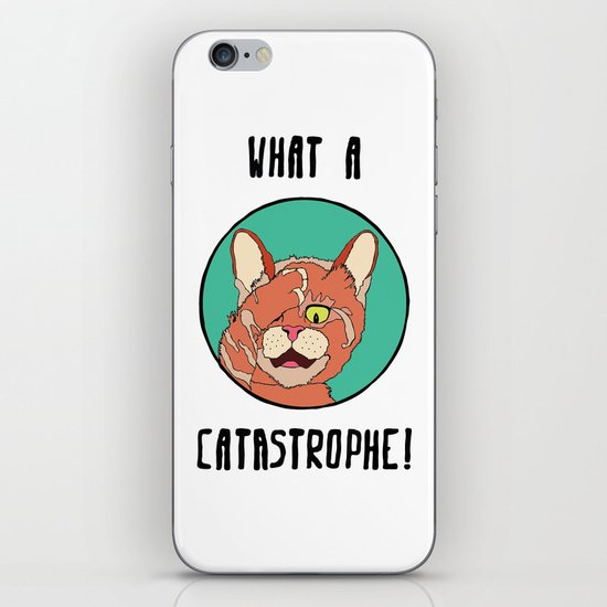 Catastrophe Cat iPhone & iPod Skin