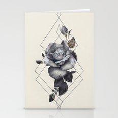 Geo Rose II Stationery Cards