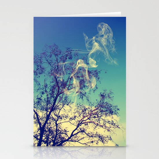 Smoke Stationery Card