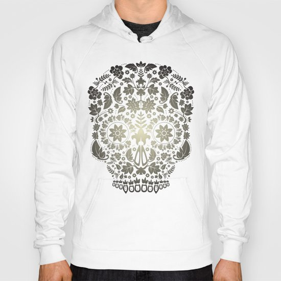 Day of the Dead Skull No.16 Hoody