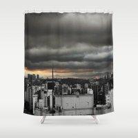 Dark Sky SP Shower Curtain