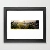 Tel Aviv Skyline From Ra… Framed Art Print
