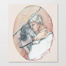 14/02 : Love Triangle  Canvas Print