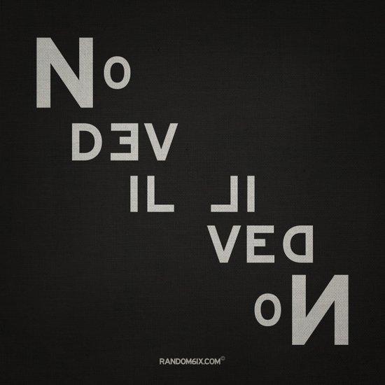 Palindrome: No Devil... Art Print