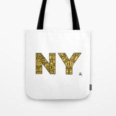 SNOW NY - PM Tote Bag
