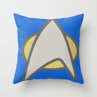 Star Trek, Communicator,… Throw Pillow