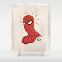 Spidey Shower Curtain