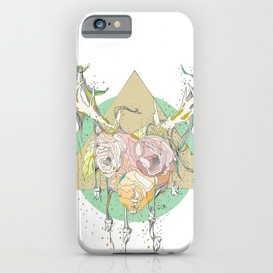 shiny white teeth iPhone & iPod Case