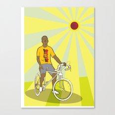 nice bike Canvas Print