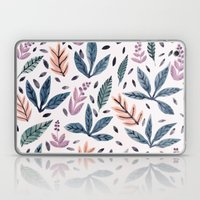 Painted Leaves Laptop & iPad Skin