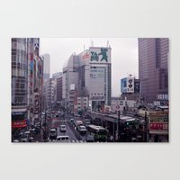 Shinjuku Skyline Canvas Print