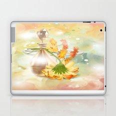 Duft der Blume - farbig Laptop & iPad Skin