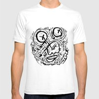 Mamarracho Mens Fitted Tee White SMALL
