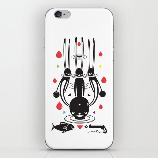 SELF-CONQUEST iPhone & iPod Skin