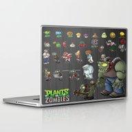 Plants Vs Zombie  , Plan… Laptop & iPad Skin