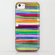 Colorful Stripes 1 iPhone 5c Slim Case
