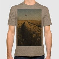 Balloon Mens Fitted Tee Tri-Coffee SMALL