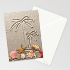 Pearl on Sand Stationery Cards