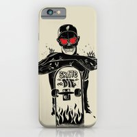 iPhone & iPod Case featuring SKATE OR DIE by kravic