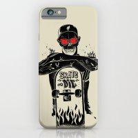 SKATE OR DIE iPhone 6 Slim Case