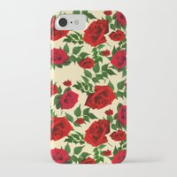 roses iPhone & iPod Cases featuring roses  by mark ashkenazi