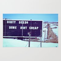 Dirty Deeds Rug