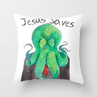 Investment Throw Pillow