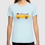 T-shirt featuring Yellow Van by Speakerine / Florent…
