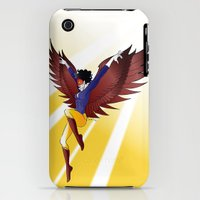 iPhone 3Gs & iPhone 3G Cases featuring Red Eagle - Snow White by Paulway Chew