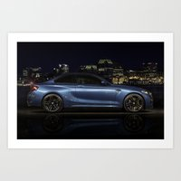 BMW M2 in the City Art Print