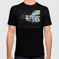 Summer Set (Variant) Mens Fitted Tee Black SMALL