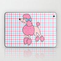 Pink Poodle Laptop & iPad Skin