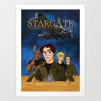 Disney SG1 Art Print