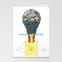 Ideas Come, Ideas Go Stationery Cards