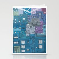 Seoul City #3 Stationery Cards