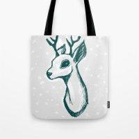 sketchy deer Tote Bag