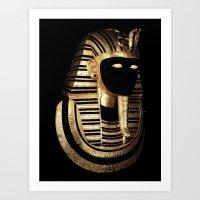 Art Print featuring Psusennes MMXII by Eric Zelinski