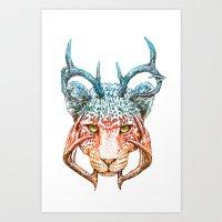 Cheedeera Art Print