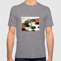 antipasto / olives Mens Fitted Tee Tri-Grey SMALL