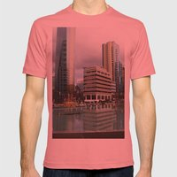 Vancouver Mens Fitted Tee Pomegranate SMALL