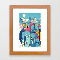 The Life Acquatic with Steve Zissou Framed Art Print