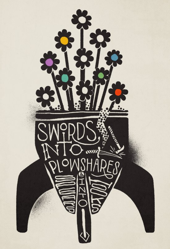 Swords Into Plowshares Art Print