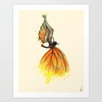 Bookworm Metamorphosis Art Print