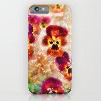 Spring Pansies iPhone 6 Slim Case